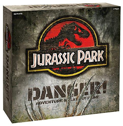 Ravensburger 22490met. Red Jurassic Park Gefahr-Adventure Strategiespiel, Mehrfarbig