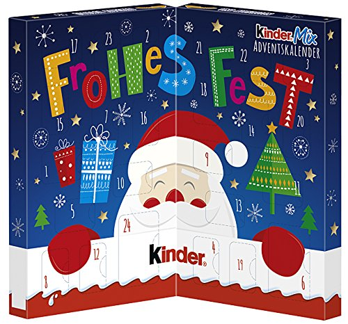 Calendario Avvento Kinder.Kinder Mix Tavolo Calendario Dell Avvento 127g Negozio