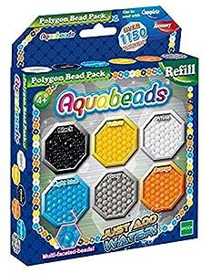 AQUA BEADS Cuentas de Repuesto para Polígonos Aquabeads.