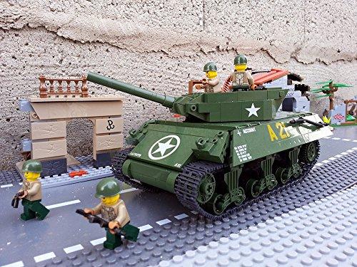 Modbrix 2475 – ★ US ARMY Jagdpanzer M-10 Wolverine Panzer inkl. custom US Army Soldaten aus original Lego© Teilen ★ - 6