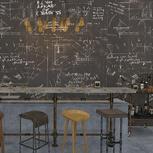 3D Wallpaper Retro Persönlichkeit Poster Englisch Buchstaben Blackboard Wall Wallpaper Wallpapers Bar Cafe Wall Kaufen drei Get One Free ( Color : 58401 )