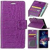 Xiaomi Redmi Note 5A Case, Meroollc [ Portable Wallet ] [ Slim Fit ] Heavy Duty Protective Women Flip Cover Wallet Case For Xiaomi Redmi Note 5A - Purple