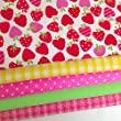 Always Knitting And Sewing Polycotton Fat Quarter Bundles - Florals, Childrens, Baby Fabrics 20 X 22 Inch 5 Zingy Apples