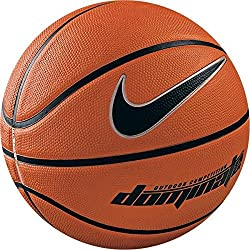 Nike Dominate (7) - Balón de baloncesto, color naranja / negro, tamaño 7