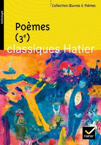 Poèmes 3e