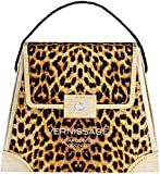 Vernissage Wine Handbag White (Leopard Print)