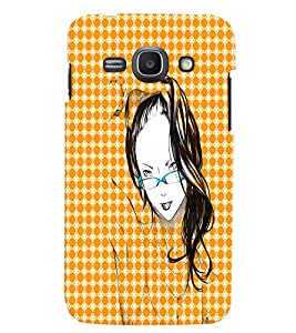 Fuson 3D Printed Girly Designer back case cover for Samsung Galaxy Ace 3 - D4575