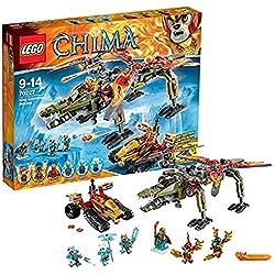 LEGO Legends of Chima - Juguete El rescate del rey Crominus (70227)