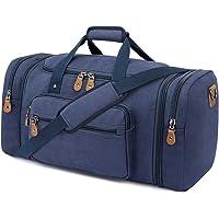 Plambag Canvas Reisetasche Vintage Weekender Größere Tasche, Unisex Sporttasche Travel Duffle Bag Urlaub Tasche…
