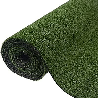 vidaXL Césped artificial verde 1x10 m/7-9 mm