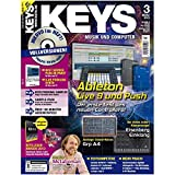Keys 3 2013 mit DVD - Ableton Live 9 und Push - U-He Podolski Synth auf DVD - Personal Samples - Free Loops - Audiobeispiele
