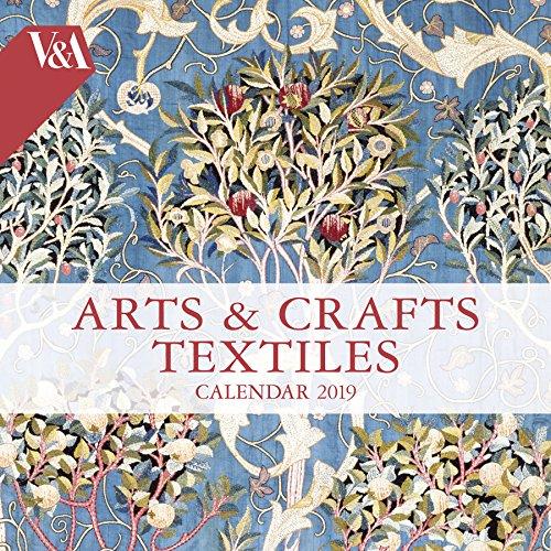 V&A - Arts & Crafts Textiles Wall Calendar 2019 (Art Calenda