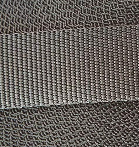 Großhandel für Schneiderbedarf 3 m PP Gurtband 30 mm Grau -