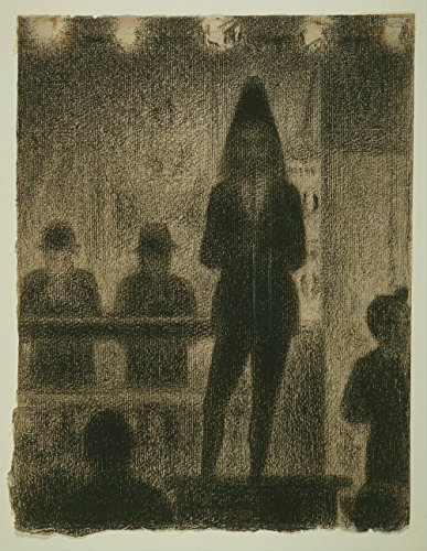 Spiffing Prints Georges Seurat - Study for Circus Side Show - Extra Large - Matte Print