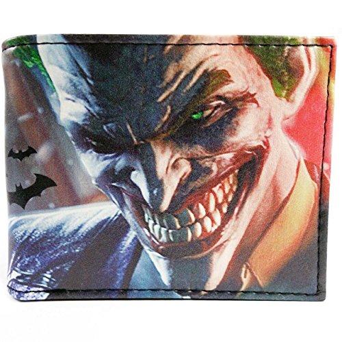 Cartera de DC Comics Batman Joker Multicolor
