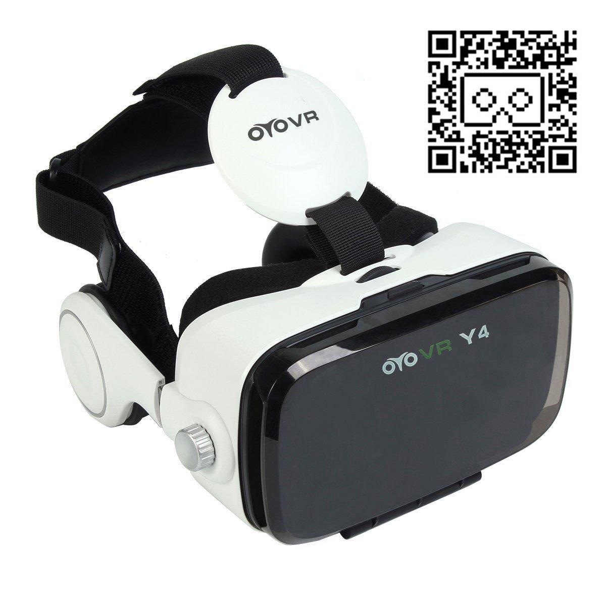 Nouveauté 3D VR Lunettes de Réalité Virtuelle avec Casque pour 4,7 ~ 6,2 Pouces de Smartphone 120 Degrés Champ de Vision pour 3D Films et Jeux