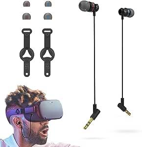 Amvr Noise Isolating Earbuds Ohrhörer Speziell Für Das Oculus Quest 1 Vr Headset Mit 3d In