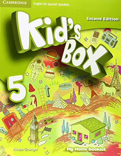 Kid's Box for Spanish Speakers Level 5 Activity Book with CD ROM and My Home Booklet 2nd Edition - 9788490364376 por Caroline Nixon