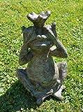 großer Froschkönig mit Händen vor den Augen - seh nix :) Shabby 30034