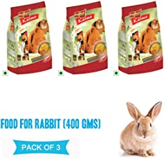 Vitapol Food for Rabbit - 1200 GMS (400 GMS, Pack of 3) (Pack of 3)