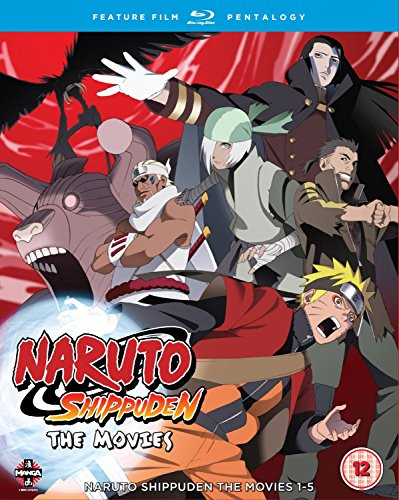 Naruto: Shippuden Movie Pentalogy [5 Blu-rays] [UK Import] (Shippuden The Naruto Movie)