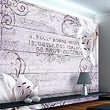 murando - Fototapete Blumen Lilien 350x245 cm - Vlies Tapete - Moderne Wanddeko - Design Tapete -...