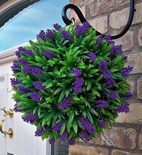 best-artificial-30cm-purple-lush-lavender-long-leaf-topiary-grass-ball