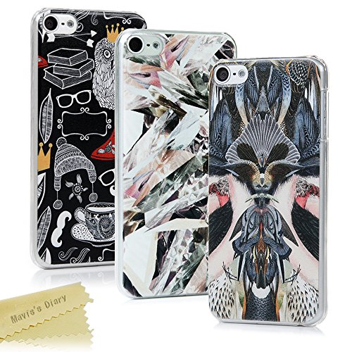 maviss-diary-ipod-touch-6-case-3-pieces-ultra-thin-clear-hard-pc-case-easy-grip-slim-fit-painting-de