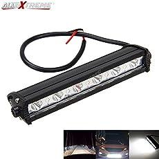 "Allextreme 7"" 18W 6 Led Spotlight Light Bar Driving Working Fog Lamp Suv Atv Car 4Wd Jeep"