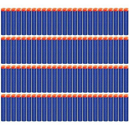 Sbolang Saugnapf für Kinder, 7,2 cm, weicher Schaumstoff, Universal-Saugnapf, für Nerf N-Strike Elite Blaster Strike Bullets Darts, 200 Stück