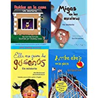 4 Spanish Books for Kids - 4 libros para niños: Box Set with Pronunciation Guide in English (English Edition)