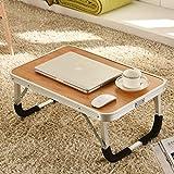 MEILING Bett Tisch Bambus Linien rutschfeste Notebook Computer Schreibtisch Klappbett faul lernen kleine Schreibtisch Wohnheim Zimmer Schreibtisch Schreibtisch