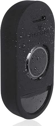 Schützende Silikonhülle Kompatibel Mit Arlo Smart Doorbell Zubehör Und Schutz Für Ihre Audio Türklingel Schwarz Beleuchtung