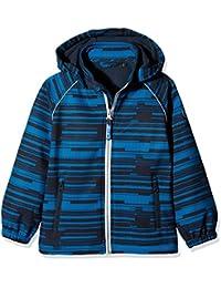 NAME IT Nitalfa Softshell Jacket Mesh Mz Fo, Chaqueta Impermeable para Bebés