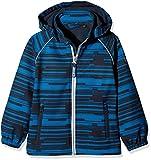 NAME IT Baby-Jungen Regenjacke Nitalfa Softshell Jacket Mesh MZ FO, Mehrfarbig (Dress Blues Dress Blues), 98