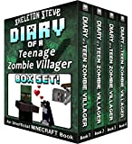 Diary of a Teenage Minecraft Zombie Villager BOX SET - 4 Book Collection 1 : Unofficial Minecraft Books for Kids, Teens, & Nerds - Adventure Fan Fiction ... Mobs Series Diaries - Bundle Box Sets 8