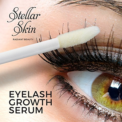 1b31ae8fd6f Eyelash Growth Serum from Stellar Skin. Best enhancer for Long, Full, Thick  Eyelashes