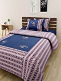 The Home Story Patchwork Double Bedsheet...