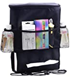 WINOMO Car Seat Back Organizer MultiPocket Hitze-Konservierung Travel Storage Bag für Wasser-Flasche Cool Beer