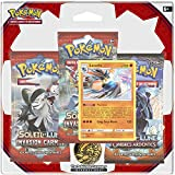 Ultra Pro  - 3PACK01SL04 - 3 Boosters Pokémon Soleil et Lune Invasion Carmin (Version Française)
