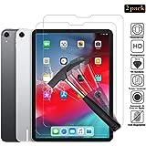ANEWSIR Panzerglas kompatibel mit iPad Pro 11 2018 [2 Stück], 9H Härte, Anti- Kratzer, Anti-Bläschen, HD-Klar, Face ID möglich Panzerfolie Schutzfolie Displayschutzfolie iPad Pro 11 Zoll 2018
