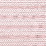 Fabulous Fabrics Strickstoff Ajourmuster - rosa - Meterware