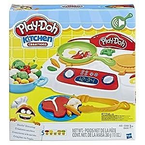 Play-Doh B9014EU4 Kitchen Creations - Estufa de Tallaje