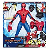 Marvel Spider-Man Far From Home - Figurine Electronique 3 en 1 - 33 cm - Parle en français - Jouet Spider-Man...