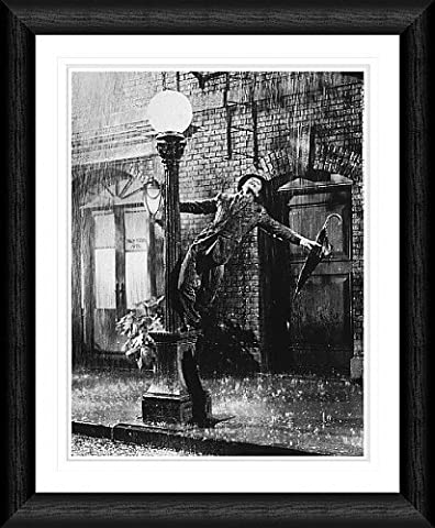 Gene Kelly - Singing in the Rain 20x16 inch Framed Print