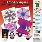 Lampenpapier Violett Mix 30 x 30 cm: Papier für Bücher: Das große Lichterbuch 2 (ISBN 978-3-938127-20-9), Das große Lichterbuch (ISBN 978-3-938127-03-2) (Origami Lichter falten aus Lampenpapier)