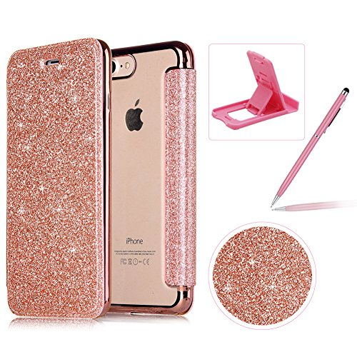 Clothing, Shoes & Accessories Luxury Flip Case For Iphone 6 S 6s 7 8 Plus 5 5s Se X 6plus 6splus 7plus 8plus Cover Clear Pc View Windows Mirror Coque Diversified In Packaging