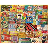 White Mountain Puzzles The Games We Played - 1000 Piece Jigsaw Puzzle, Model: 924, Toys & Play
