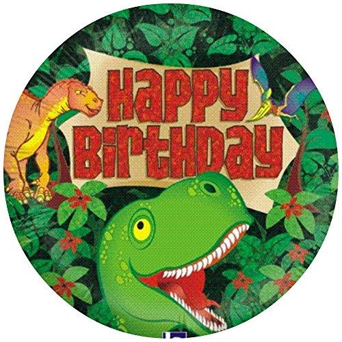Tortenaufleger Tortenfoto Aufleger Foto Bild Dinosaurier (3) rund ca. 20 cm *NEU*OVP*