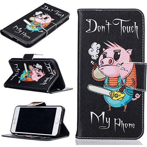 """iPhone 7 Plus Coque, ONLY pour 5.5"""" iPhone 7 Plus Housse - MYTHOLLOGY avec Support Housse PU Cuir Étui à rabat Portefeuille Antichoc Cover - HM DJZ"""